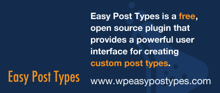 WP Easy Post Types