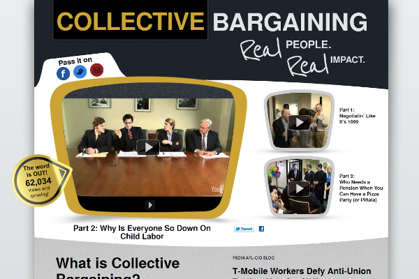 Collective Bargaining home page