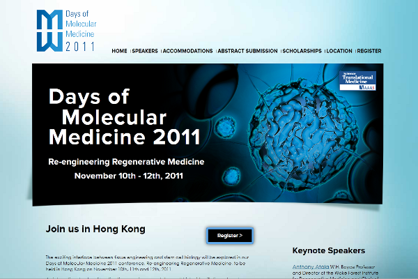 Days of Molecular Medicine home page